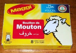 Bouillon de mouton