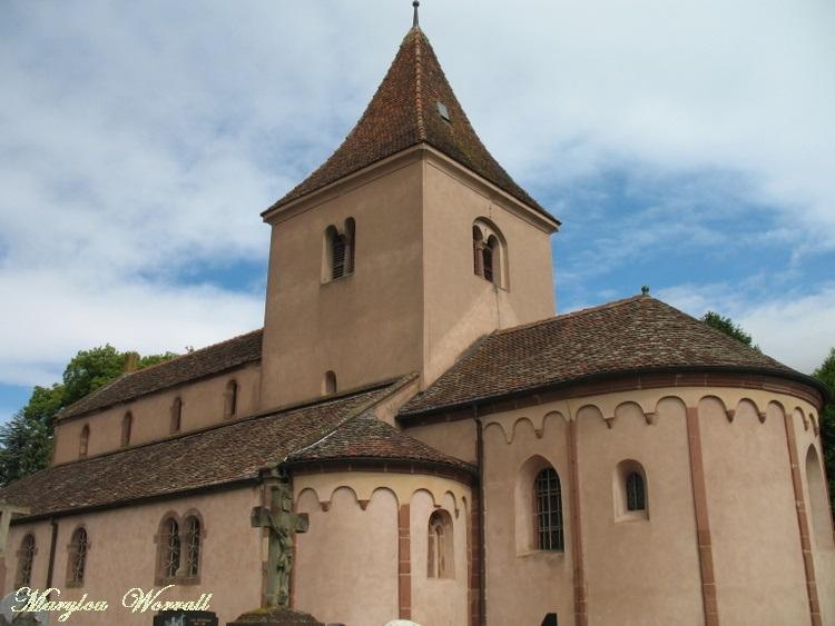 Hohatzenheim (67) : L'église