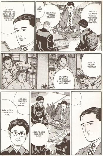 Jirō Taniguchi,  Le journal de mon père, 1994
