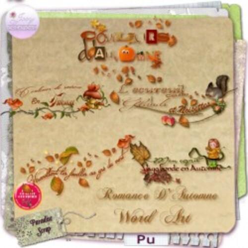 Kit Romance d'automne de Josycréations