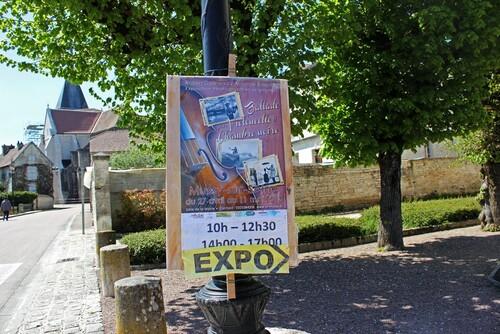 Une très belle exposition de photos de Robert Doisneau consacrée à Maurice Baquet, à Mussy sur Seine
