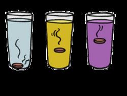 Expériences rigolotes : les fluides