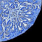 Coins bleus 8