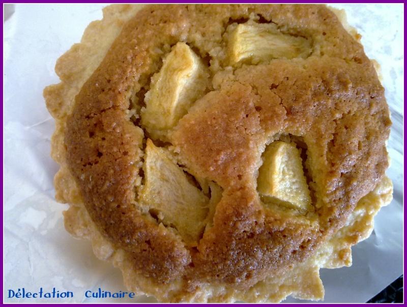 Tartelettes aux pommes/frangipane ou Tartelettes aux pommes amandine