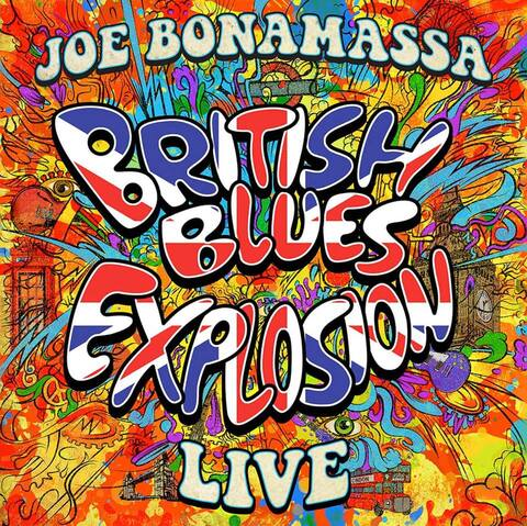 JOE BONAMASSA - Les détails du prochain CD/DVD/Blu-ray live British Blues Explosion