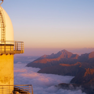 le pic du midi de bigorre, l'un des sommets les plus majestueux des