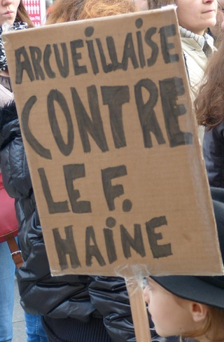 Marche contre le Front National et le racisme à Arcueil (compte-rendu)