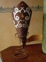 Lampe Zébulon Chocolat
