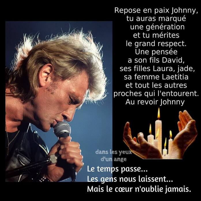 Au revoir Johnny Hallyday