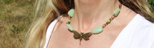 Colliers libellules aux couleurs du Tarn