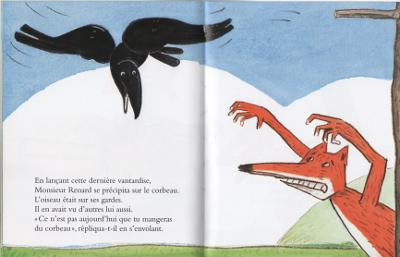 Renard corbeau Boujoun