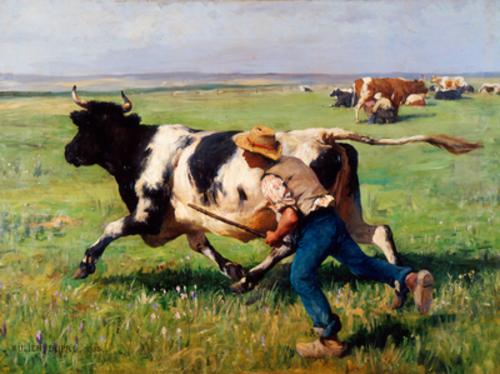 13 - Des vaches dans l'art