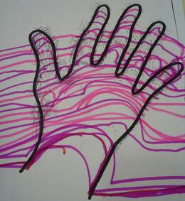Toujours sur le thème des mains...