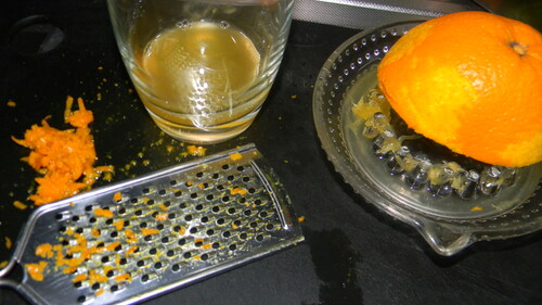Osso-bucco relevé à l'orange...
