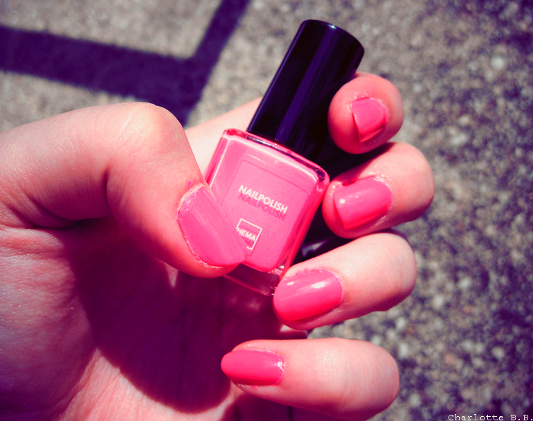 [Vernis] Le flashy selon HEMA.