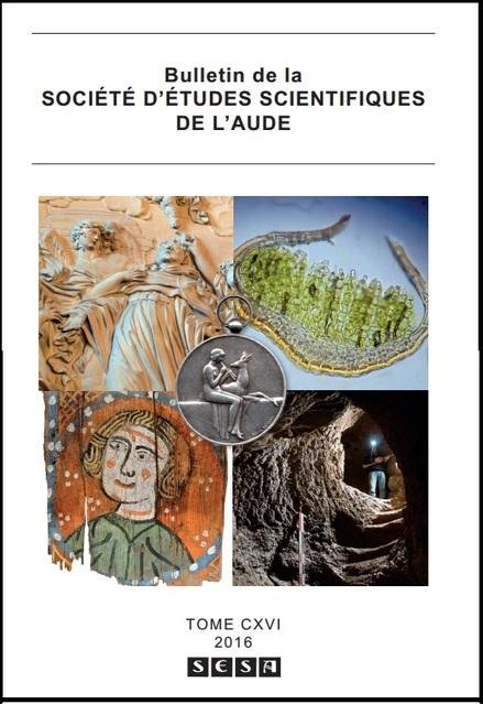 Le dernier bulletin de la Société d'Etudes Scientifiques de l'Aude