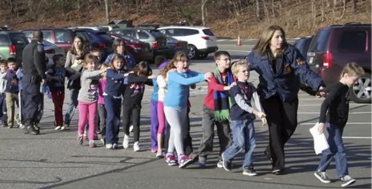 Sandy Hook Evacuation