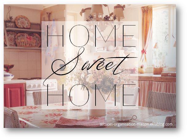 ✿ Home sweet home.