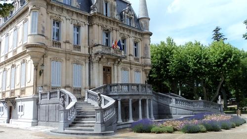 Parc du Château de Val Seille à Courthézon (84)