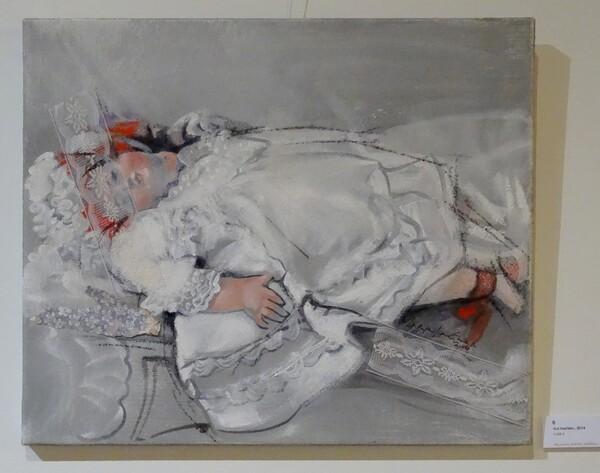 Maryvonne Jeanne-Garrault, est l'invitée d'Honneur du 6ème salon des peintres des Amis du Châtillonnais