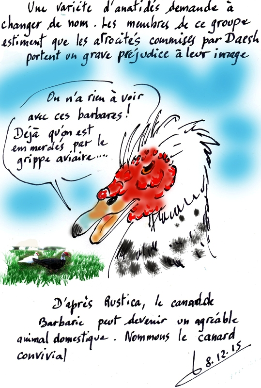 Barbarie/Daesh/Canard