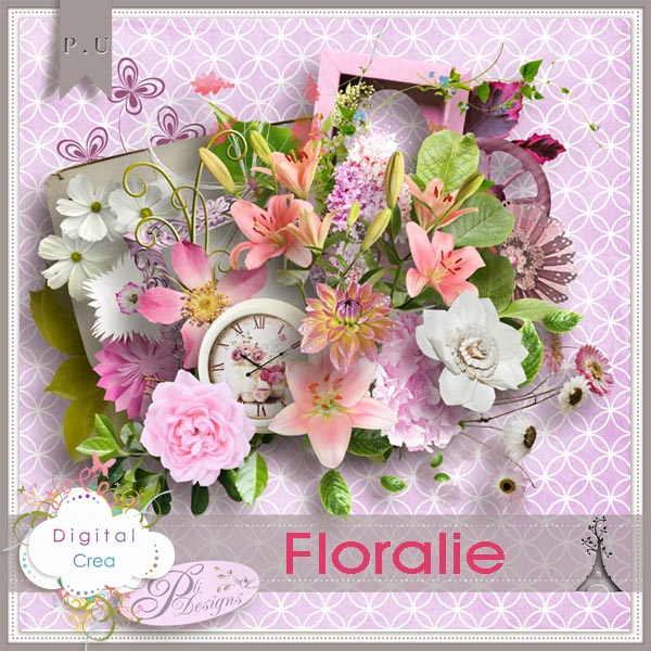 "Mini kit ""Floralie"" by Pli Designs"