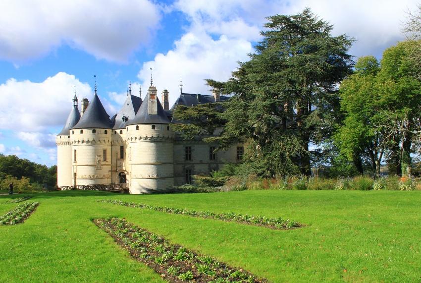 le chateau de Chaumont sur Oise