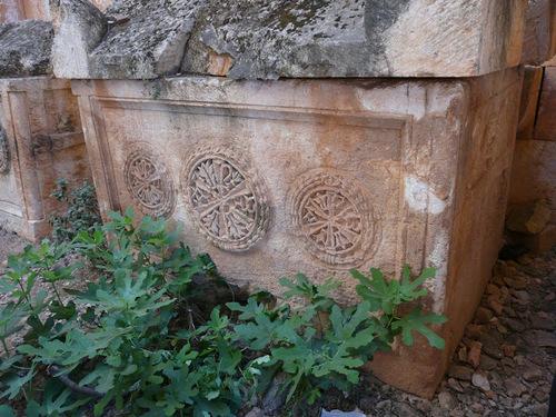 les villes mortes; el Bara; suite de la visite