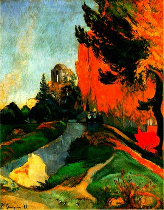 Paul Gauguin, Les Alyscamps