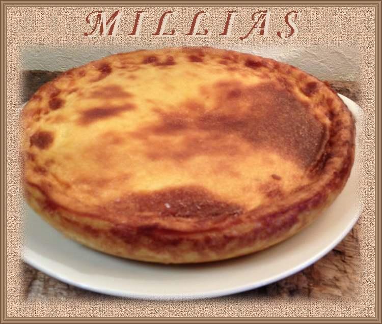 Recette de cuisine : Millias