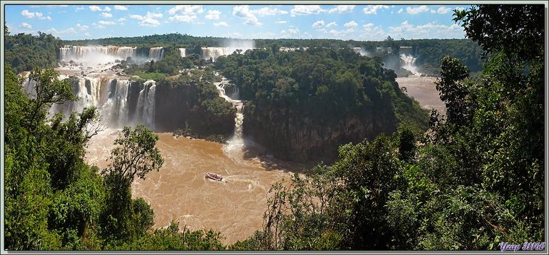 Les chutes d'Iguaçu vues de différents points de vue - Foz do Iguaçu - Brésil