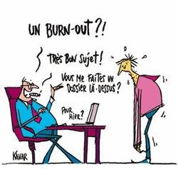Burn out et maladie professionnelle