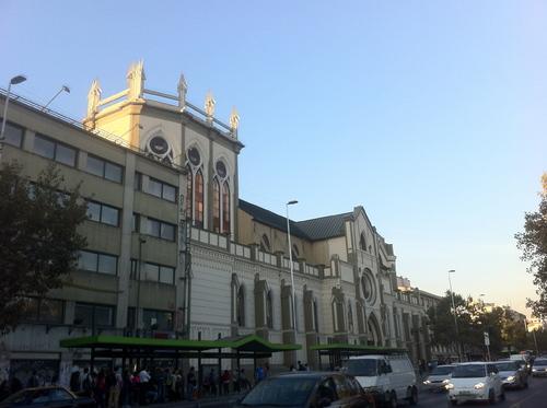 3 avril, J1 à Santiago