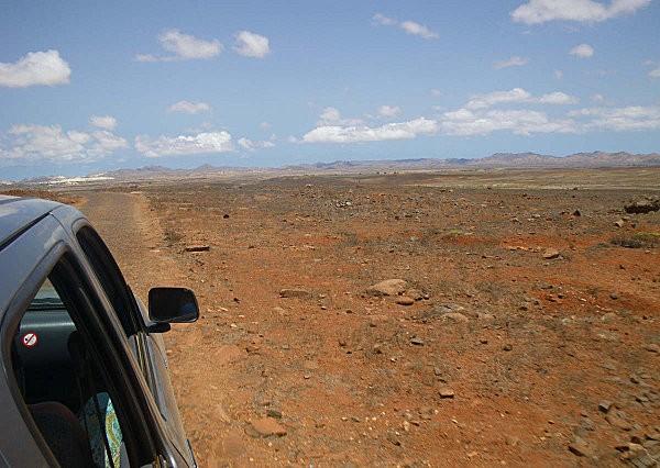 pickup dans le désert