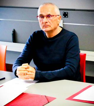Norbert Duigou, l'animateur du Collectif des usagers du TER 29 Sud.