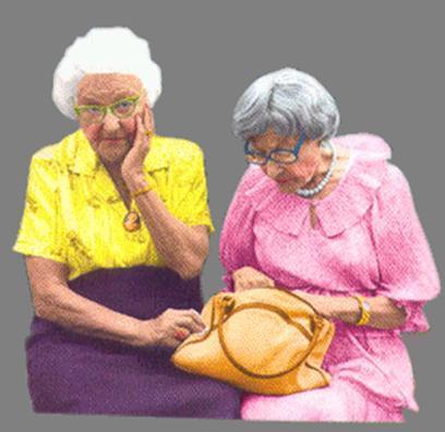 C'est l'histoire de deux vieilles dames