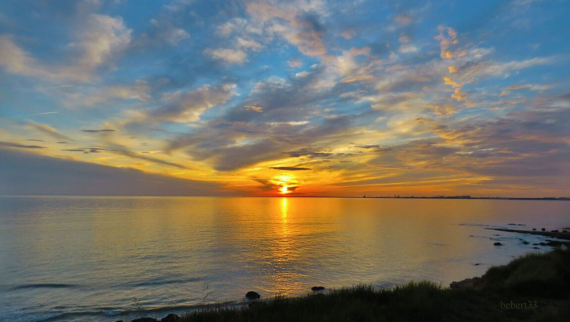mon coucher de soleil