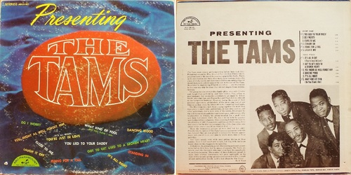 "THE TAMS - Fist Album ""Presenting"" ABC-Paramount ABCS 481 - 1964"