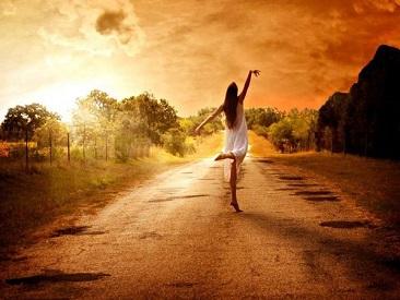 Le bonherur n'est pas le bout du chemin, il doit être le chemin ...