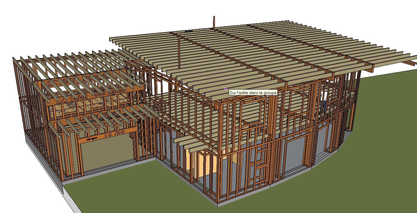 permis de construire  Maison GREB dans lYonne (Parly)