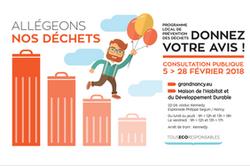 Réduction des déchets: défi 2018 pour ma ville!
