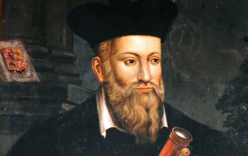 Nostradamus Arjuna moderne
