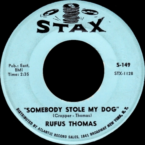 "Rufus Thomas : Album ""  Walking The Dog "" Stax Records 704 [ US ]"