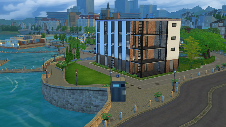 Mon premier défi  Sims 4