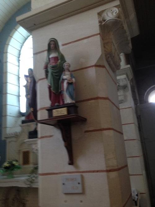 Eglise de  St Georges de Baillargeaux