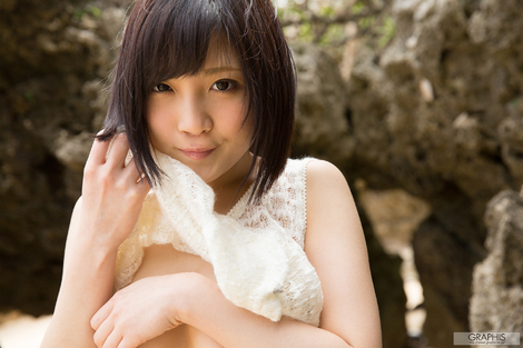 WEB Gravure : ( [Graphis] - | First Gravure - first time nude gravure No.141 | Umi Hirose/広瀬うみ )