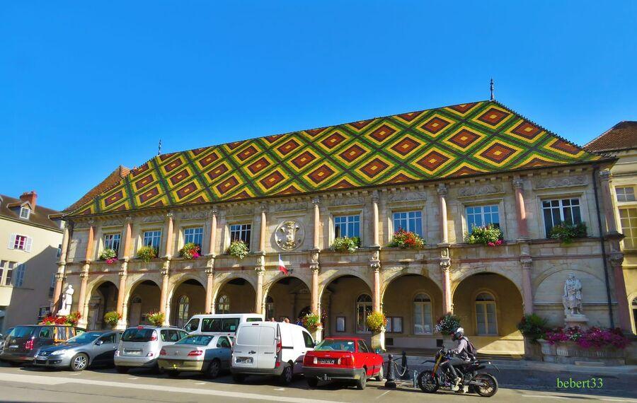 la mairie de Gray en Haute-Saone