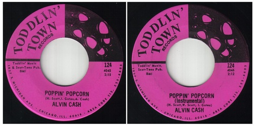 ALVIN CASH - SINGLES TODDLIN' TOWN