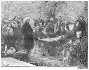 Promenade en ville.....Albert Glatigny....Poète et écrivain français. (1839 – 1873)