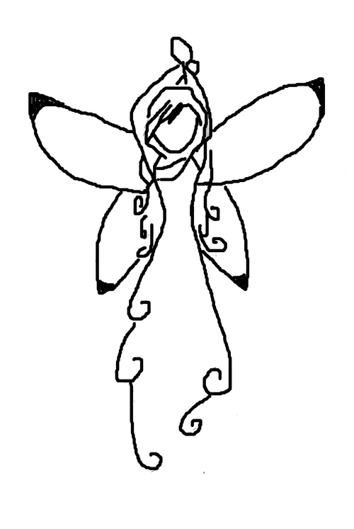 les anges pour serviette de table